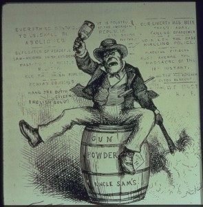 The Usual Irish Way of Doing Things, 1871 political cartoon.