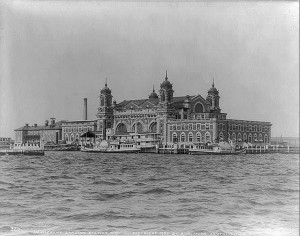 Ellis Island (c.1905)