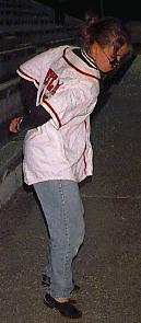 Katie Lennon, from Natick, MA at Framingham Blues Festival , 1997