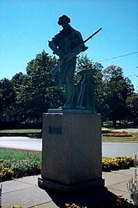 Minuteman Statue, Buckminster Square, Framingham, MA USA
