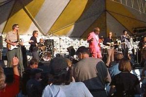 Rufus Thomas at Framingham Blues Festival (1997)