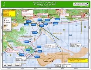 MAP - Deepwater Horizon Situation Map, May 1, 2010