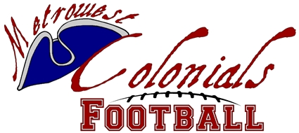 Metrowest Colonials, a semi-pro football team from Framingham,MA