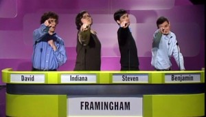 PHOTO: Framingham High School Quiz Show Team (2010)