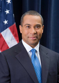PHOTO - Deval Patrick, Incumbent Candidate for Massachusetts Governor, 2010