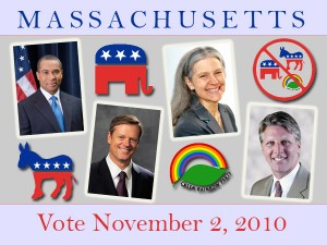 PHOTO - Candidates in the 2010 Mass. Gubernatorial Race
