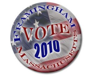 Framingham Votes - 2010 MA State Election
