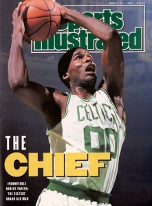 The Chief - Robert Parish, Sports Illustrated cover (1991)