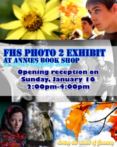 Framingham School Photo Exhibit, January 2011 at Annies Bookstop / Espresso Paulo in Nobscot