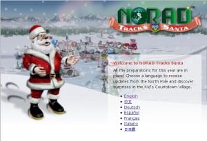 2010 NORAD Santa Tracker