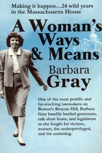 Book Cover: A Woman's Ways & Means, (Gray)