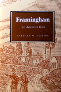 [book cover] Framingham: An American Town
