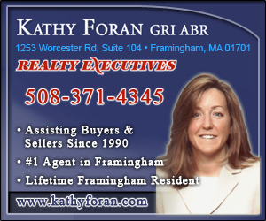 Kathy Foran - Realty Executives, Framingham, MA,  508-371-4345