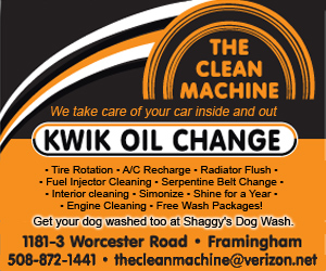 The Clean Machine - Rt. 9, Framingham - Car Wash, Oil Changes, Detailing, even a Dog Wash!