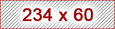 234x60 ad size example