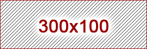 300x100 ad size example